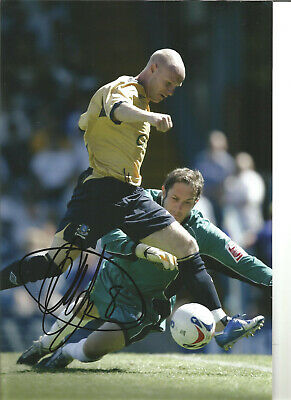 Andy Johnson Everton Signed 12x8 in hand signed authentic football photo SS167B