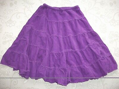 EXCELLENT CONDITION Girl's MINI BODEN Fine Corduroy Frill Skirt 9/10 Years