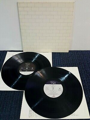 Pink Floyd The Wall LP (EX) PC2-36183 (1979) 1st Press Matrix # - Psych Rock