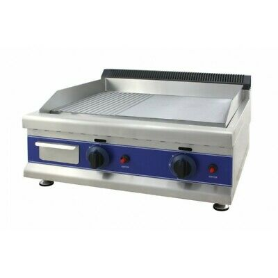 Mount Plate Fry Top Professional Gas Two - Floor Steel Smooth-Lined