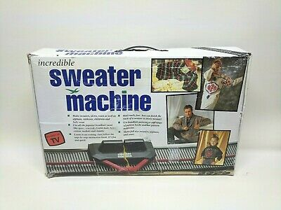 Incredible Sweater Knitting Machine 1980's - Boxed with manual *Free Delivery*