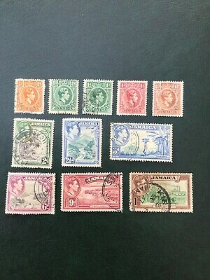 Commonwealth - George VI. Jamaica. As Illustrated. Fine Used.