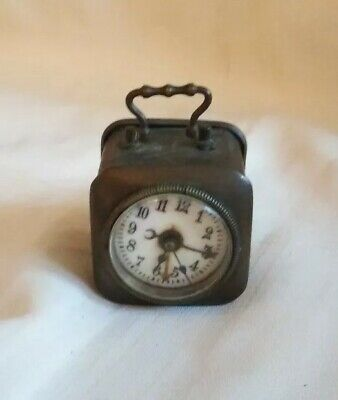 Antique clock approx 1869.Swiss / French. Rare.