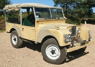 """1955 Land Rover Series One 86"""" Ministry of Supply & RAF"""