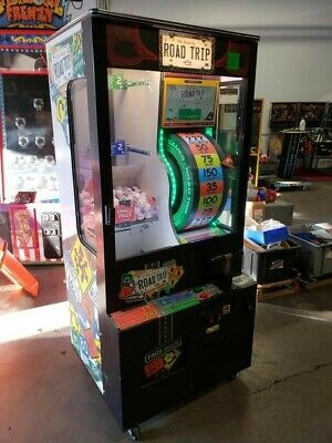 Baytek Amazing Road Trip Prize Redemption Arcade Game in Mint Condition