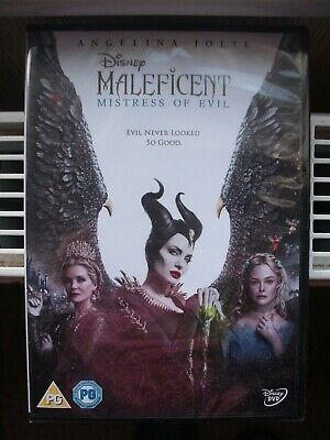 Maleficent  Mistress of Evil DVD  Angelina Jolie NEW & SEALED