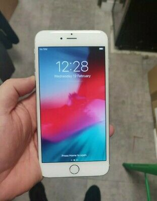 iPHONE 8 PLUS SILVER 64GB UNLOCKED IN AMAZING CONDITION FULLY WOKING UK