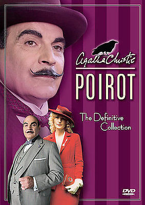 Agatha Christie's Poirot The Definitive Collection - BRAND NEW 12 DVD SET