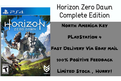 Horizon Zero Dawn Complete Edition - PS4 - North America Key Only