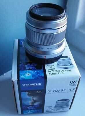 OlympusM.Zuiko 45mm f/1.8 Boxed, Excellent Condition With 12  Month Warranty.