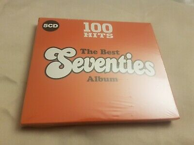 Various Artists - 100 Hits The Best Seventies Album 5CD - New & Sealed 70's CD