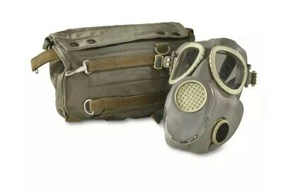MP4 Gas Mask w/ Bag Polish Military Surplus Army New (never issued)