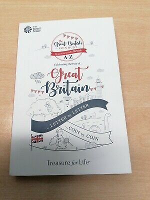 Great British Coin Hunt 10p Coin Album Folder 2018 Brand New A to Z Royal Mint