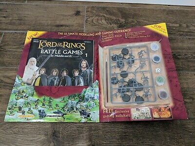 Lord Of The Rings Games Workshop Battle Games first GAMING PACK LOTR RPG