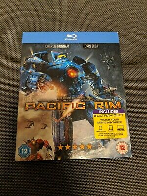 Pacific Rim (Blu-ray, 2013, 2-Disc Set)