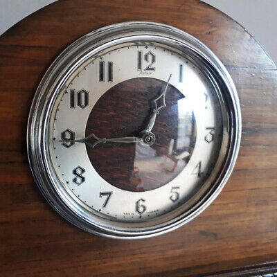 Vintage Enfield Art Deco Mantle Clock - good condition and in working order