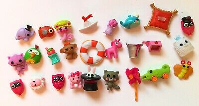 """Lalaloopsy Mini Doll 3"""" Lot Of 26  Pets and  Accessories for dolls"""