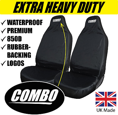 Protectors 1+1 Top Quality Universal Vauxhall Combo Heavy Duty Seat Covers