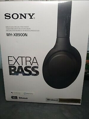 Sony WH-XB900N Wireless Noise Canceling Headphones - Black (NEW & UNOPENED)