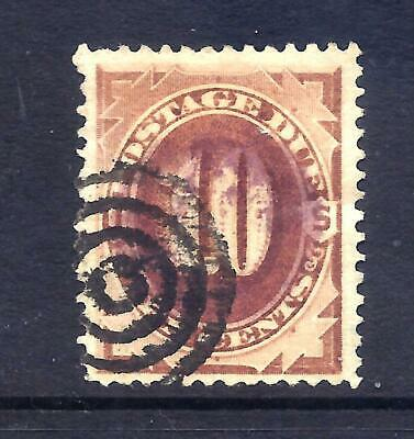 US Stamps - US - #J19 - USED - 10 cent 1884 Postage Due Issue  - CV  $35