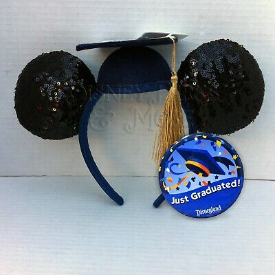 Disney Parks Mickey Minnie Mouse Class of 2020 Graduation Ears Headband