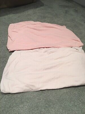Mothercare Cotbed Fitted sheets bundle x2