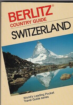 Berlitz Pocket Travel Guide of Switzerland Includes Maps 192 Pages