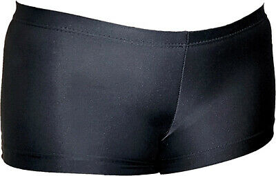 *Girls The Zone black gymnastic, sports shorts, size CME,28 Tight fit GUWC*