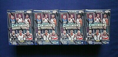 (4) 2019-20 Panini Contenders NBA Basketball Sealed Blaster Boxes ~ Auto/Memo