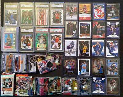 500 Rookie Auto Jersey Lot: Mahomes, Kobe, Morant, Zion, Doncic RC + Giannis