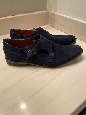 Alfani JACOB Blue Mens Size 13M SUEDE LEATHER Loafers & Slip Ons Shoes