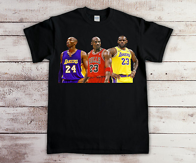 Kobe Bryant, Michael Jordan, and Lebron James T Shirt #2
