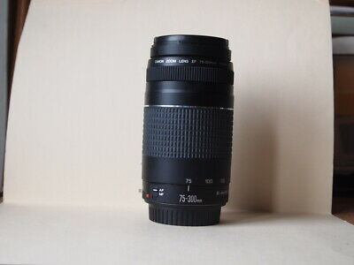 Canon EF 75-300mm F/4-5.6 III USM Lens tested works