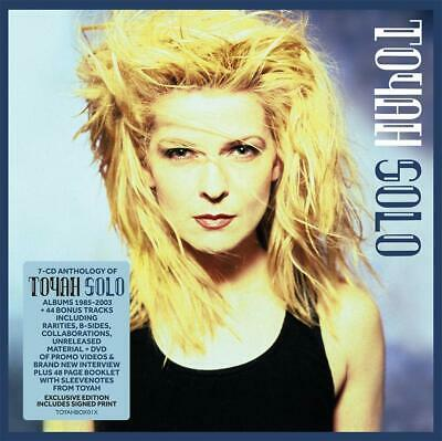 TOYAH - SOLO - 7CD Box Set Exclusive SIGNED Edition (Includes Signed Print)
