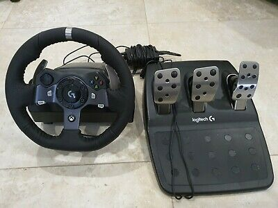 Logitech G920 Driving Force Racing Wheel - Black