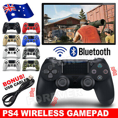 Wireless Bluetooth Controller Gamepad Joystick For PS4 PlayStation 4 Camouflage