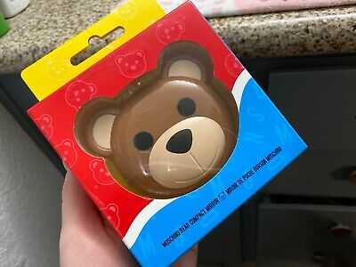 NEW | MOSCHINO by Jeremy Scott + SEPHORA BEAR COLLECTION Compact Mirror | RARE