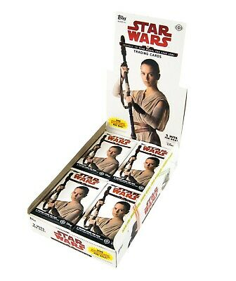 Star Wars Journey to The Last Jedi Trading Card Hobby Box (Topps 2017) SEALED