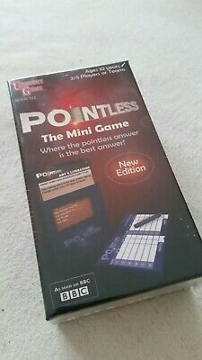 Pointless The Mini Game (new edition) ~ brand new ~ sealed ~ age 10 years +