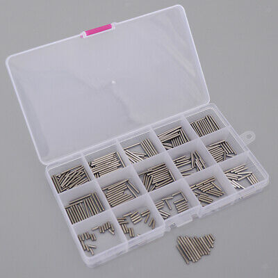 Stainless M2 Slotted Spring Pin Assortment Kit Split Spring Pin Tension Roll Pin