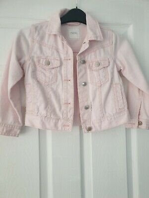 Next girls denim jacket age six years.