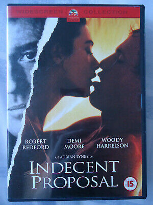 * INDECENT PROPOSAL (Paramount UK DVD 2003) Robert Redford Demi Moore AS NEW!