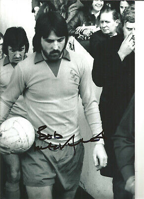 Bob Latchford Everton 16 x 12 inch hand signed authentic football photo SS179A