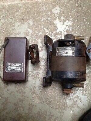 Vintage Singer Sewing Machine Motor And Controller Not Working