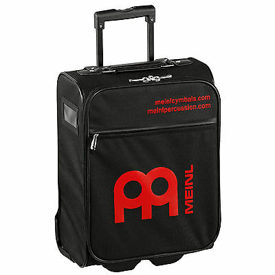 Meinl Percussion Trolley Cabin Bag Extendable Handle Black - Red Meinl Logo