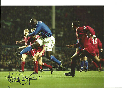 Kevin Campbell Everton 10 x 8 inch hand signed authentic football photo SS209