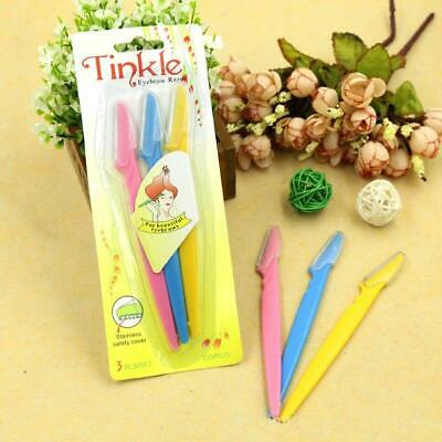 Tinkle Facial Eyebrow Razor Trimmer Shaper Shaver Blade Knife Hair Remover