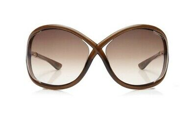 TOM FORD Whitney Butterfly Sunglasses TF9 with case and cleaning cloth