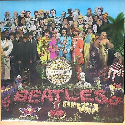 The Beatles - Sgt. Pepper's Lonely Hearts Club Band ( UK vinyl LP) PCS 7027