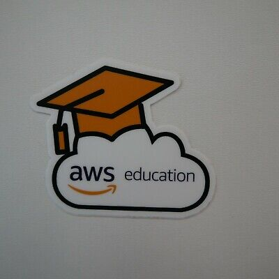 Amazon Web Services AWS School Education Sticker AI and ML Cloud Computing